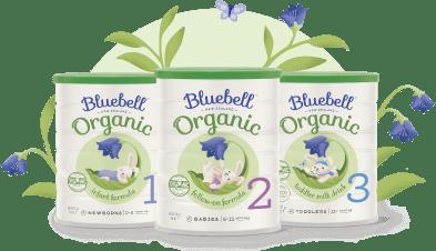 Bluebell Organic Tins